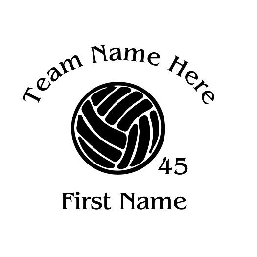 Volleyball Decal - S125
