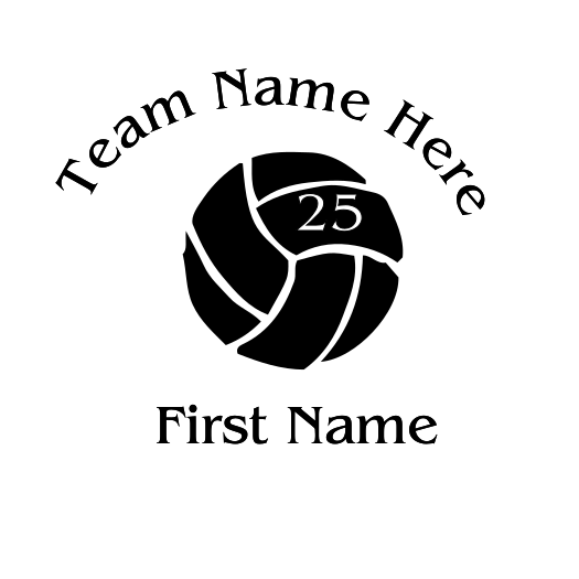 Volleyball Decal - S126