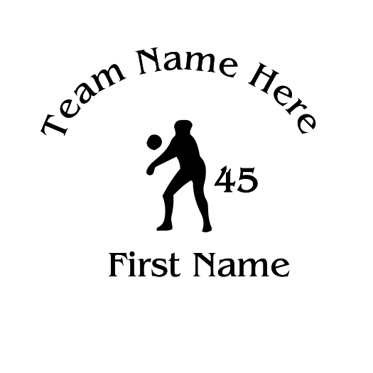 Volleyball Decal - S127