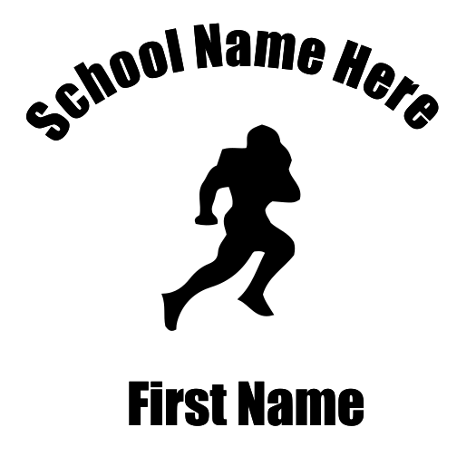Football Decal - S44