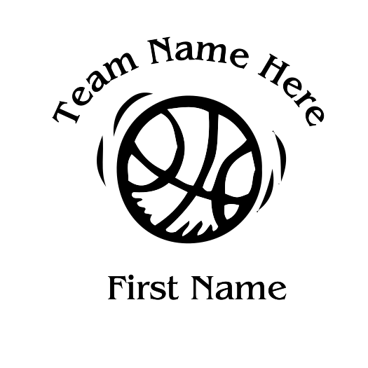 Basketball Decal - S15