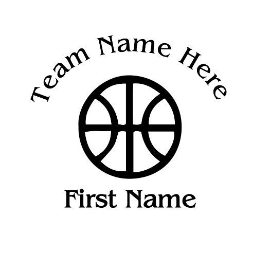 Basketball Decal - S16