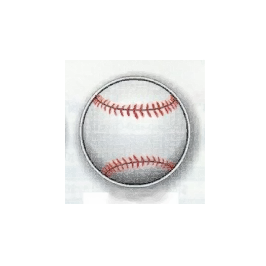 Baseball Magnet or Softball Magnet