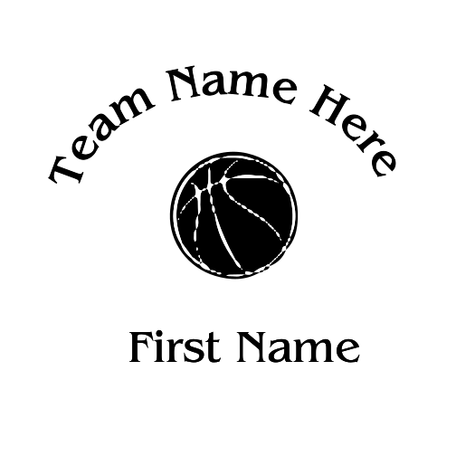 Basketball Decal - S20
