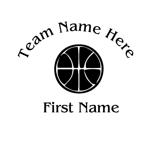 Basketball Decal - S26