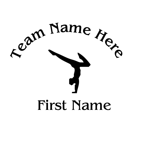 Gymnastic Decal - S56