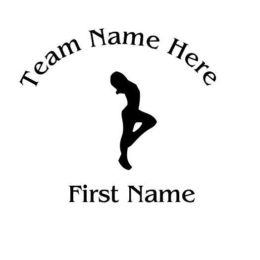 Gymnastic Decal - S60
