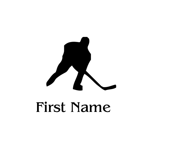 Hockey Decal - S71