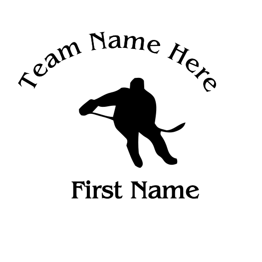Hockey Decal - S73