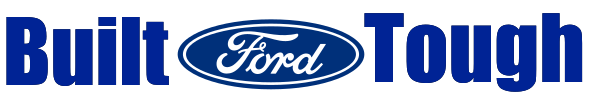 Ford Built Tough Windshield Banner
