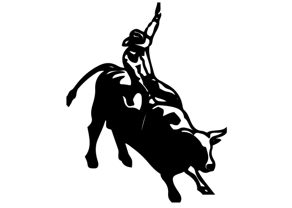 Bull Riding Decal