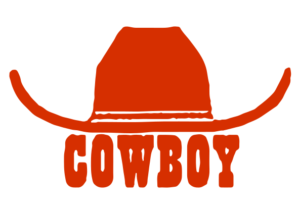 Cowboy Hat Decal
