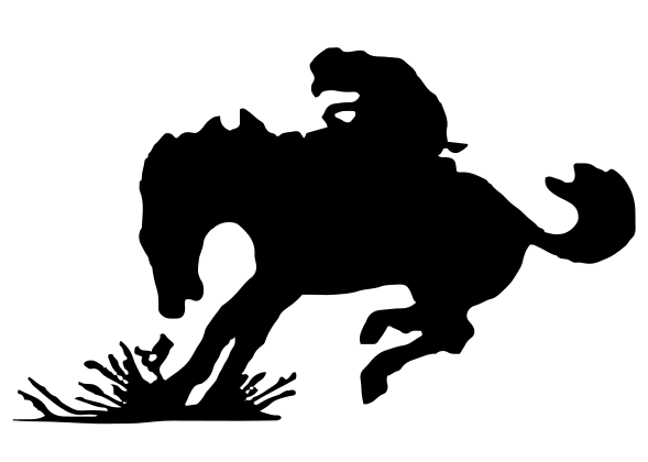 CowBoy Stopping Decal