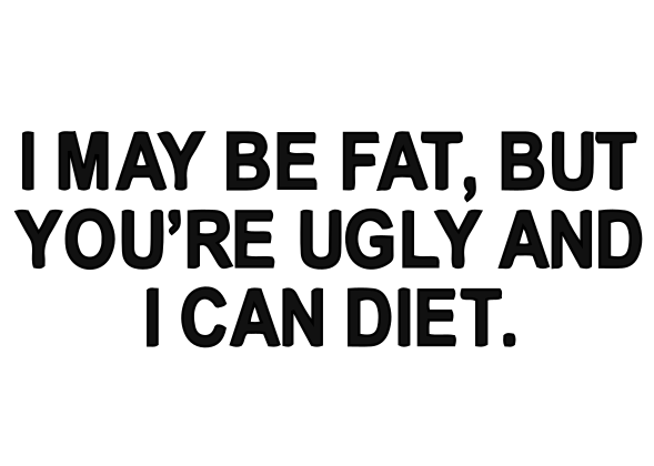I Can Diet Decal
