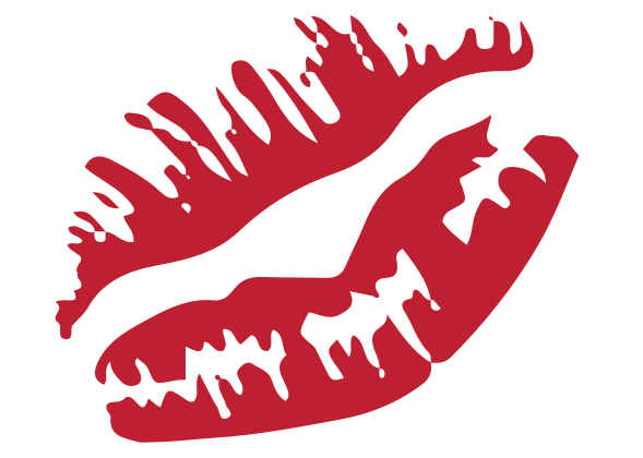 Lips Decal 2