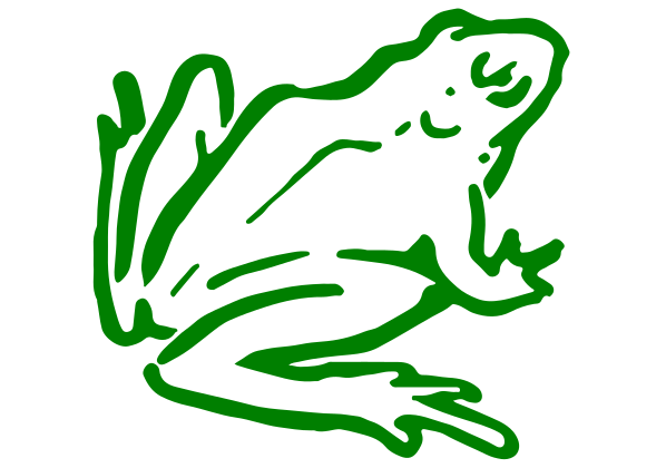 Frog Decal 3