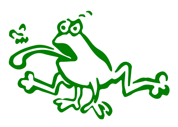 Frogger Decal