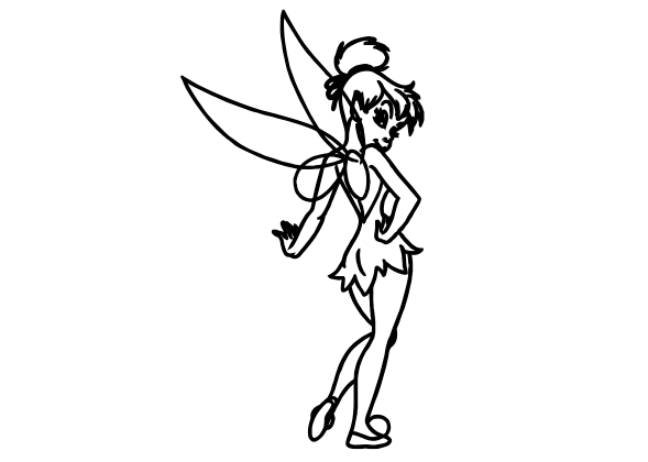 Tinkerbell Decals - 2