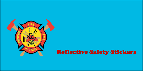 Reflective Safety 3x6 Stickers