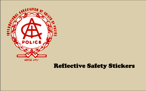 Reflective Safety 5x8 Stickers
