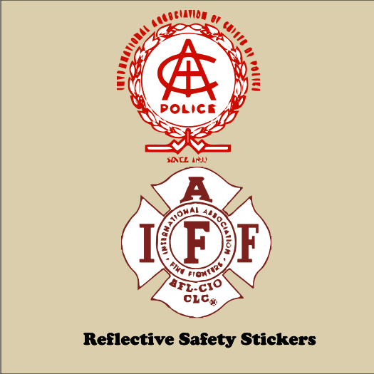 Reflective Safety 6x6 Stickers