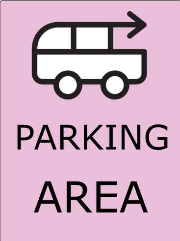 Parking Sign 24x18 inches