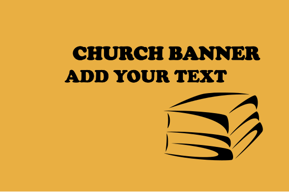 Church Banners 48x72 inches