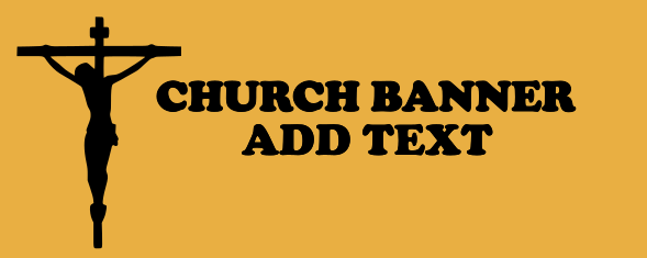 Church Banners 48x120 inches