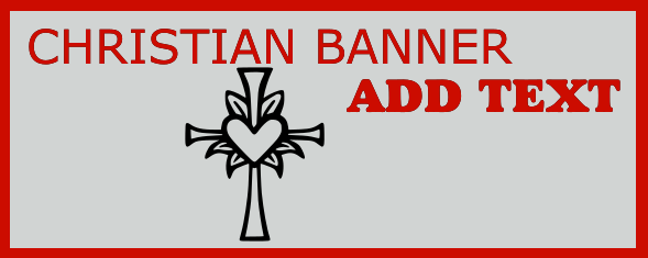 Christian Banners 48x120 inches