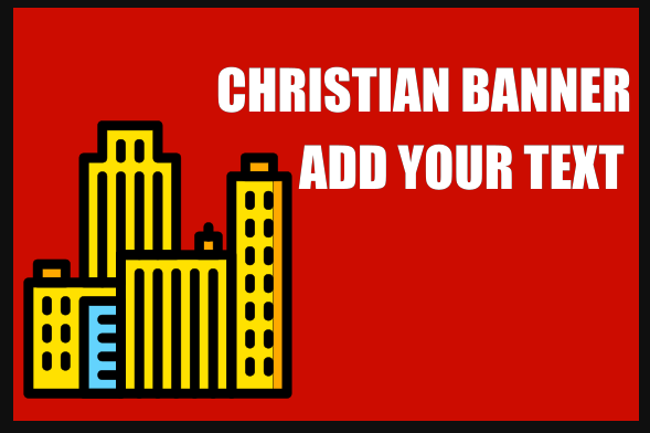Christian Banners 48x72 inches