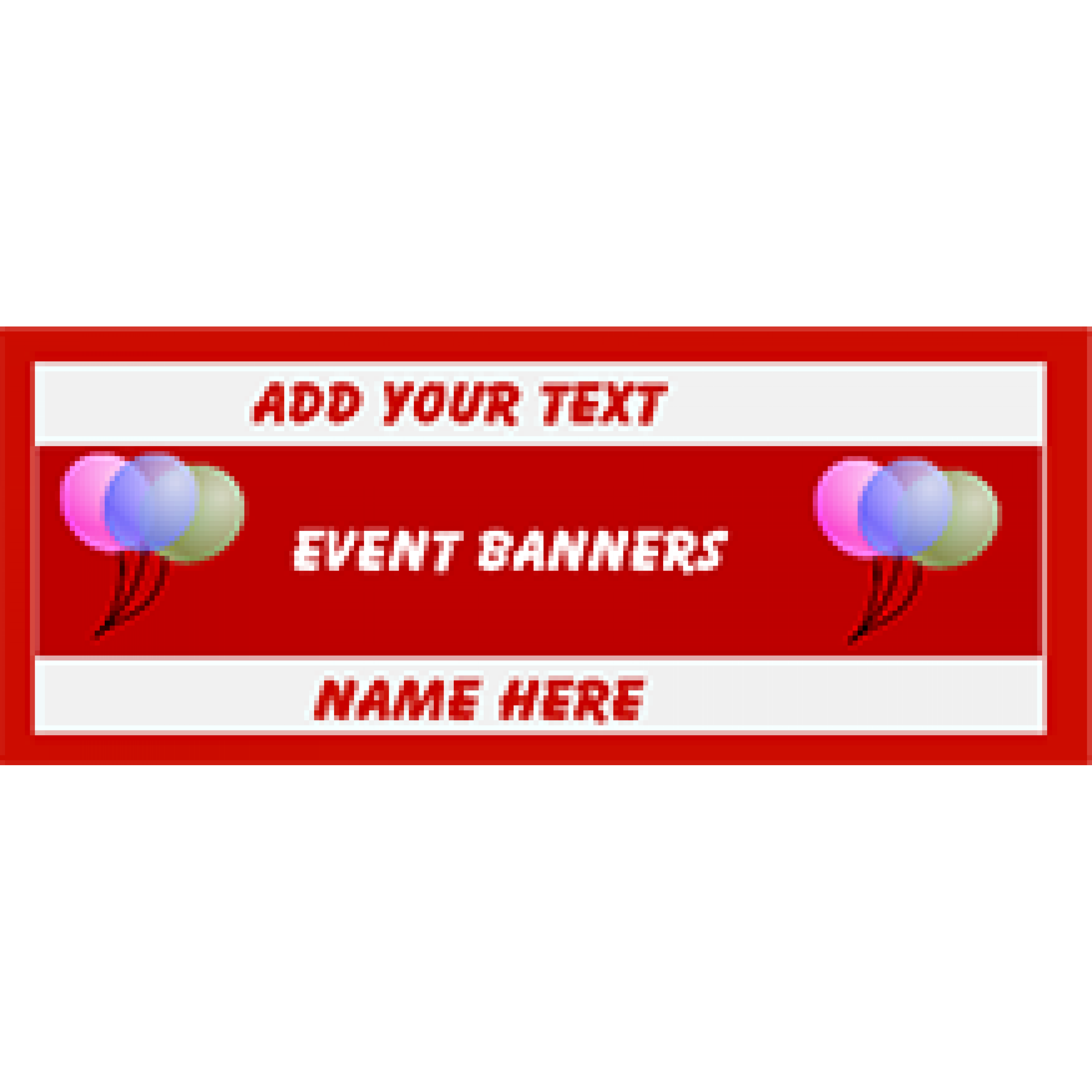 Event Banner 48x120 inches