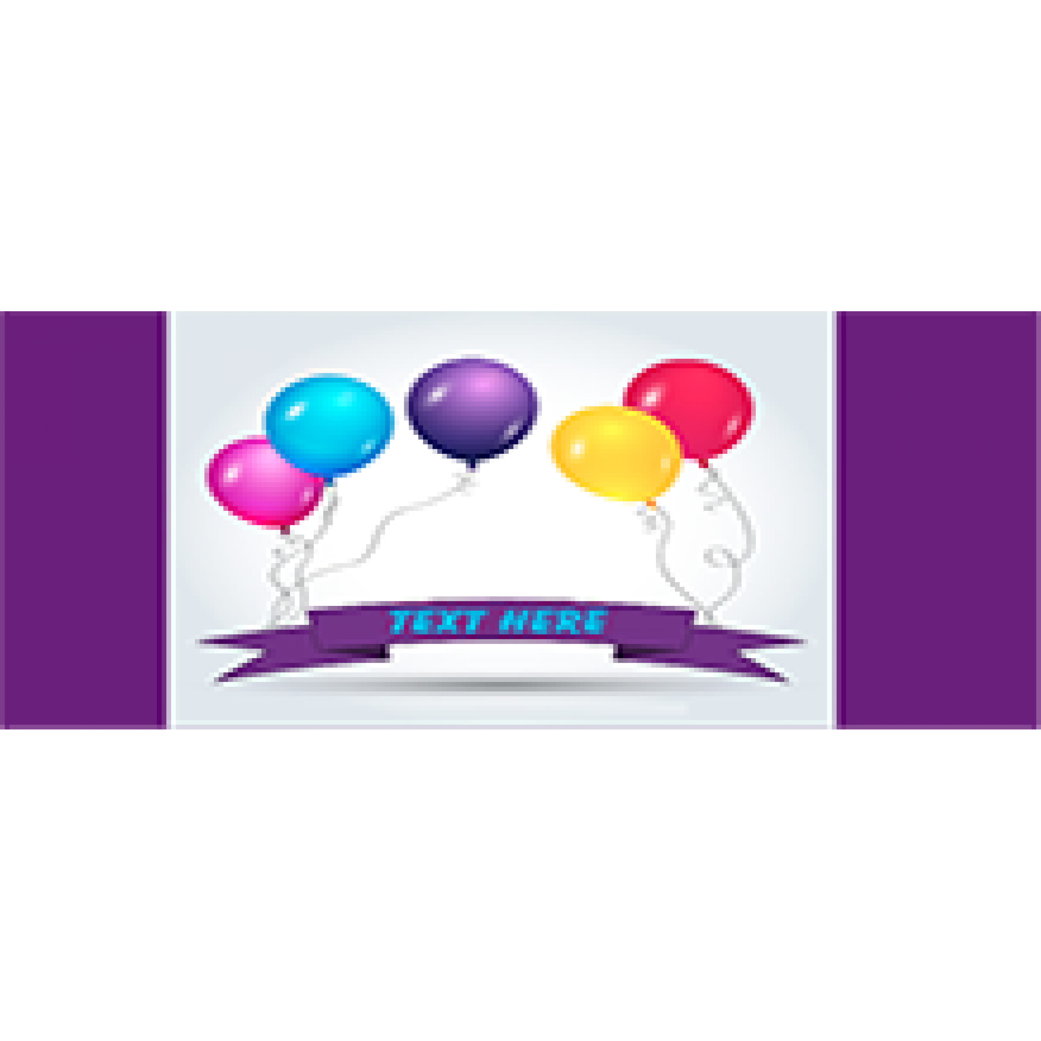 Birthday Banners 36x72 inches