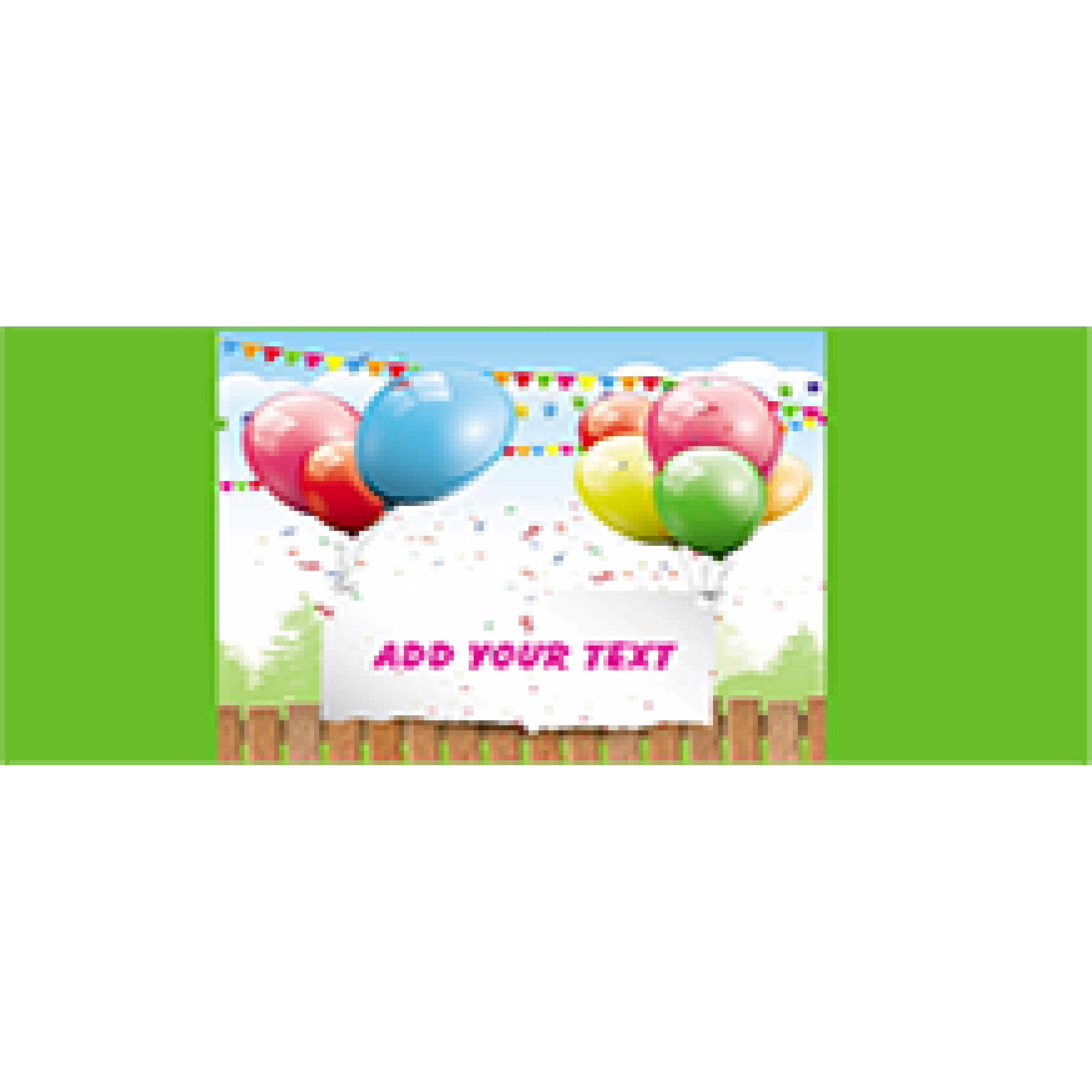 Birthday Banners 48x96 inches