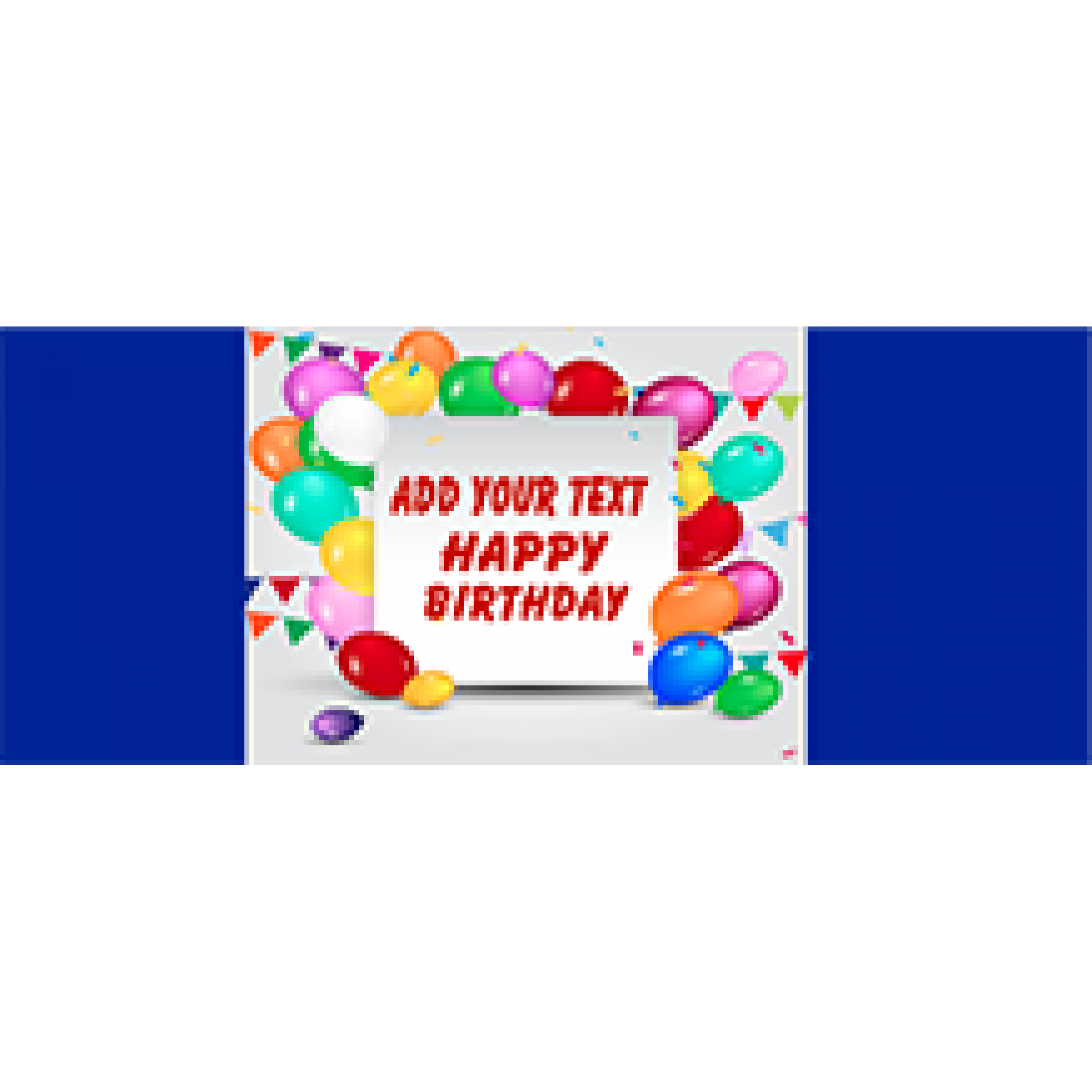 Birthday Banners 48x120 inches