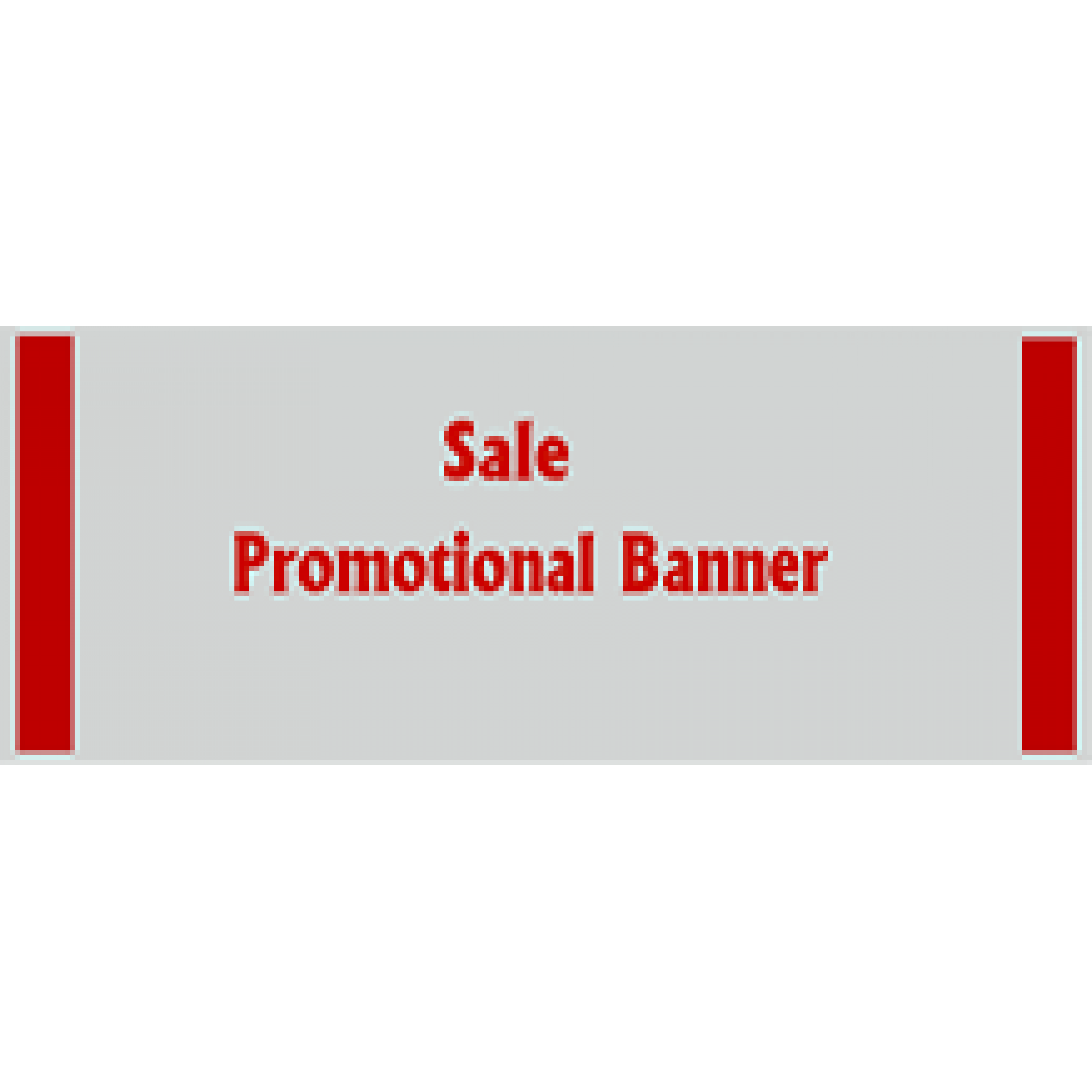 Promotional Banner 36x120 inches