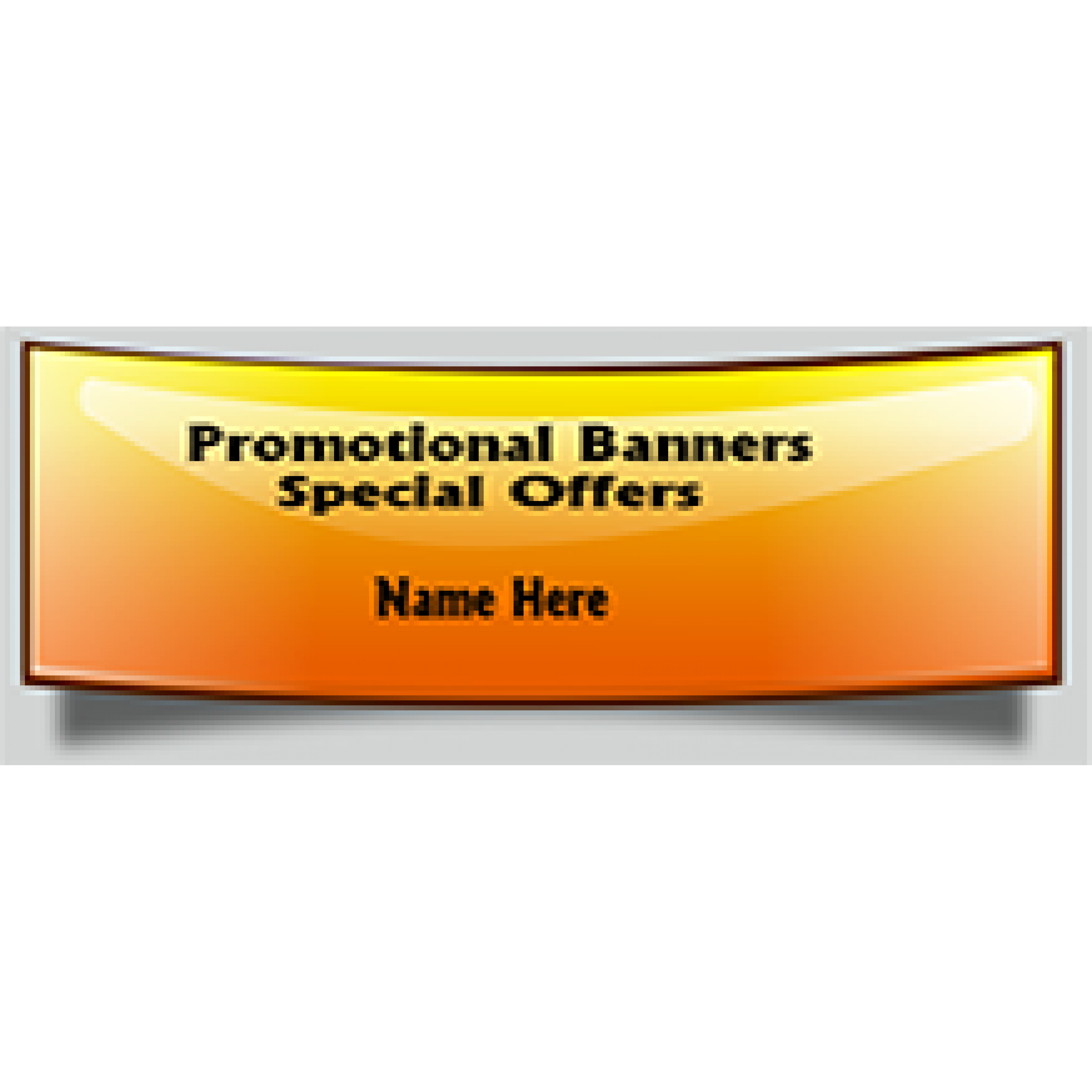 Promotional Banner 36x72 inches