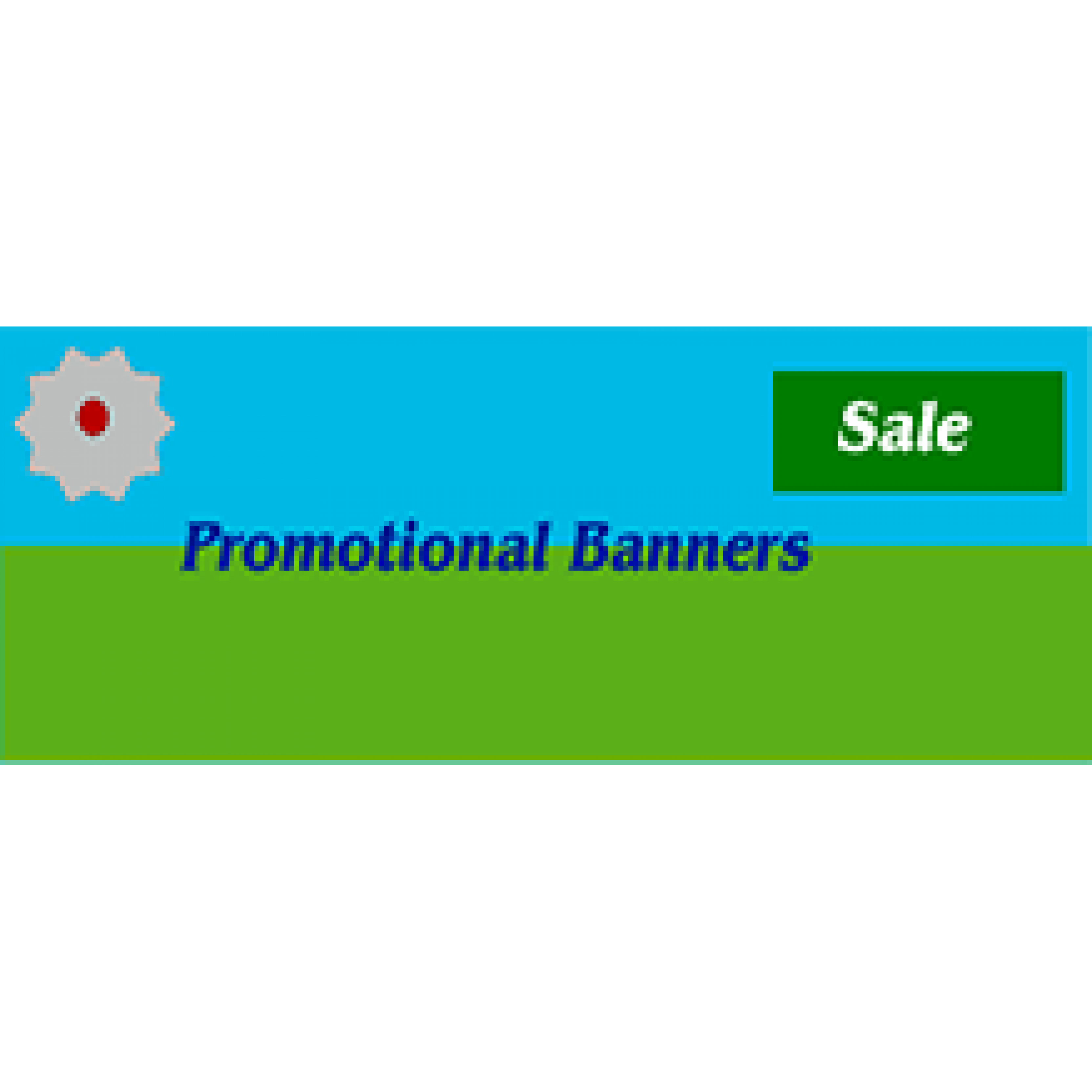 Promotional Banner 48x144 inches