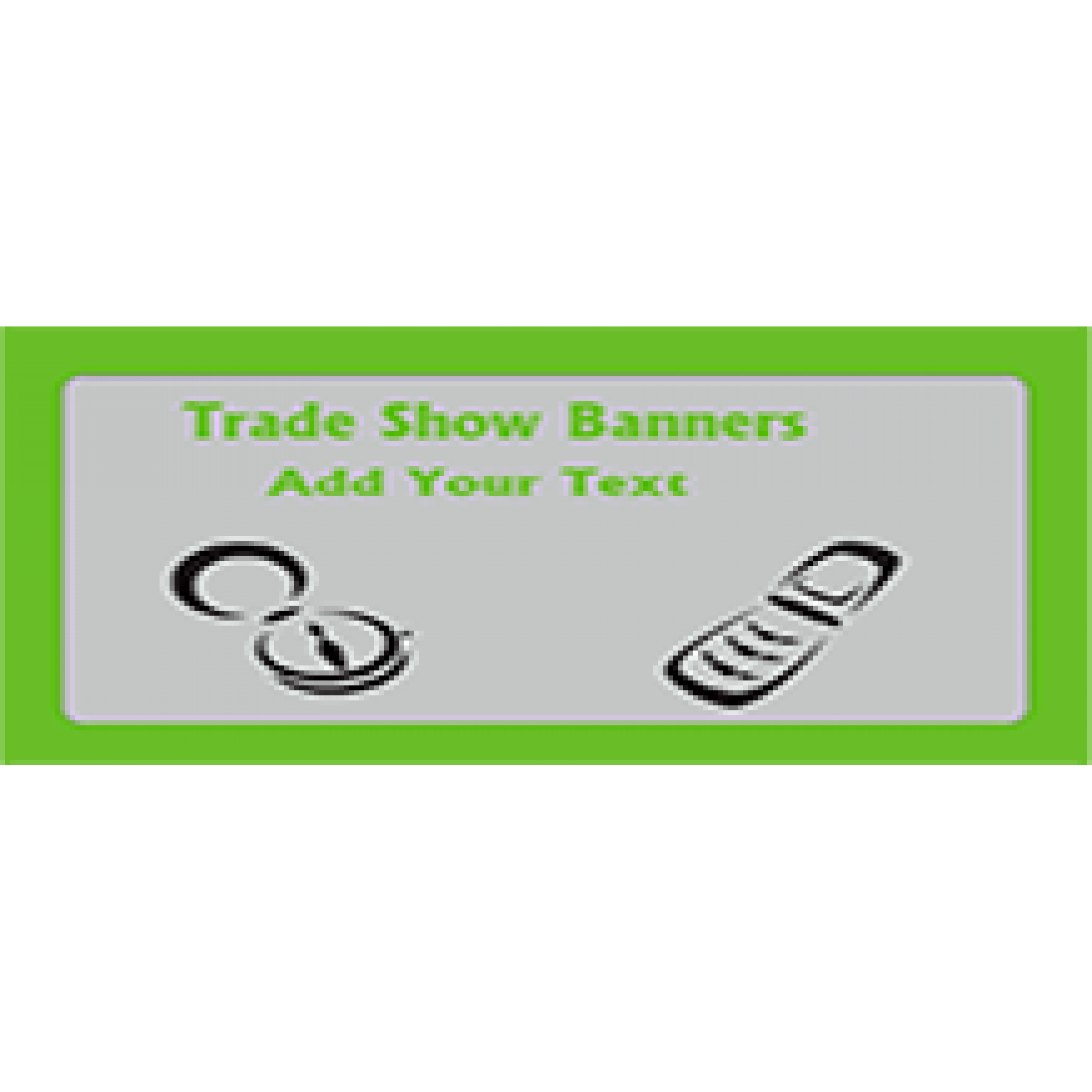 Trade Show Banner 48x72 inches