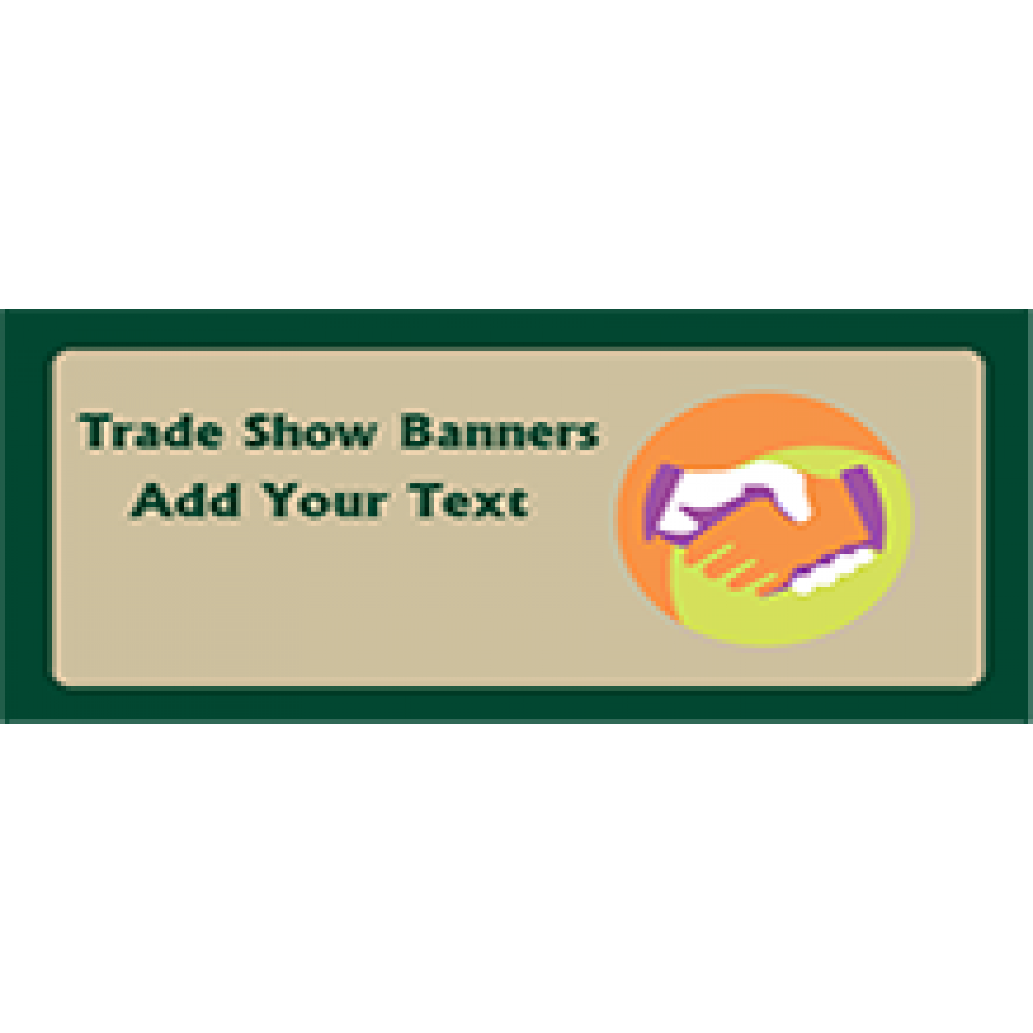 Trade Show Banner 48x96 inches