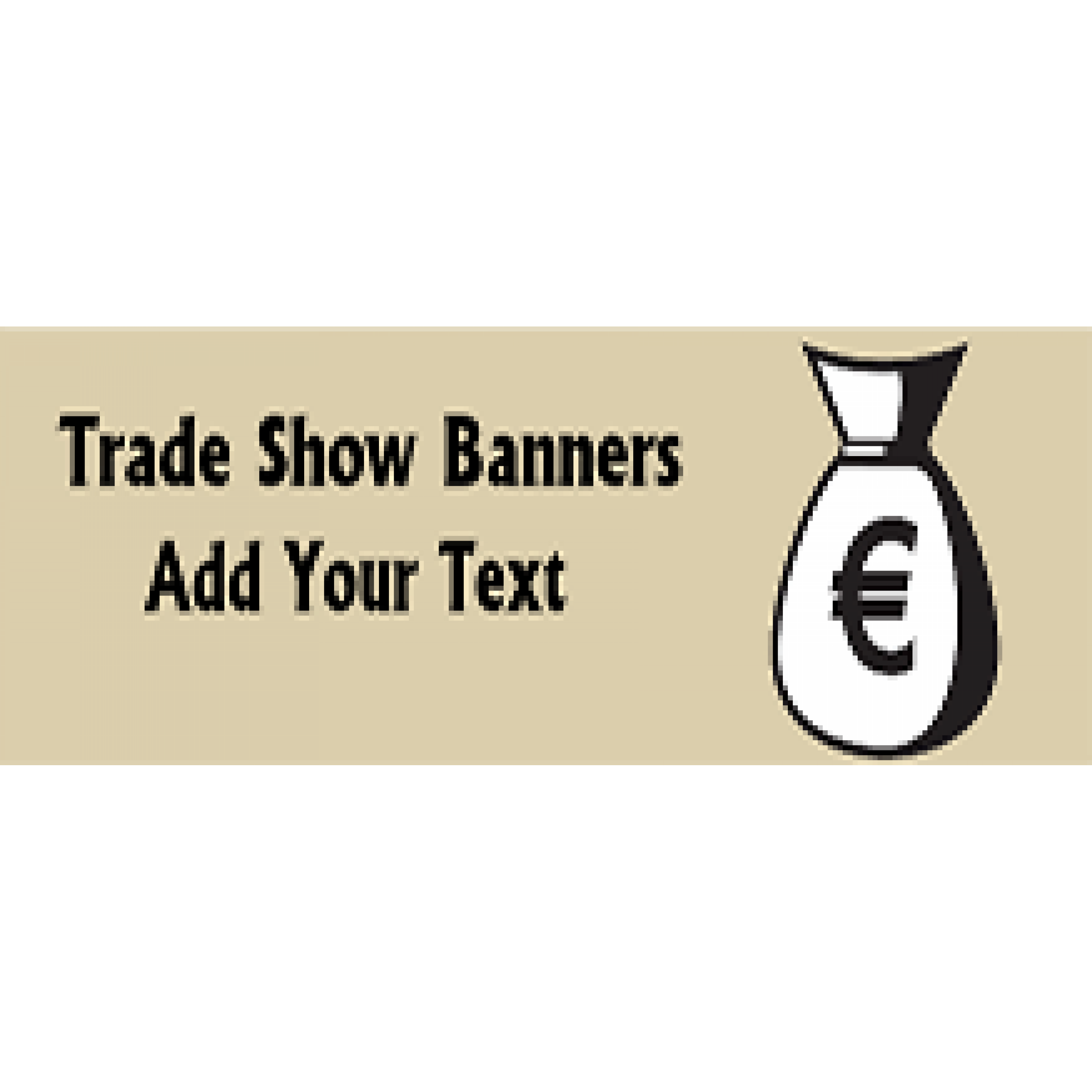 Trade Show Banner 24x96 inches