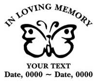 Loving Memory Decals