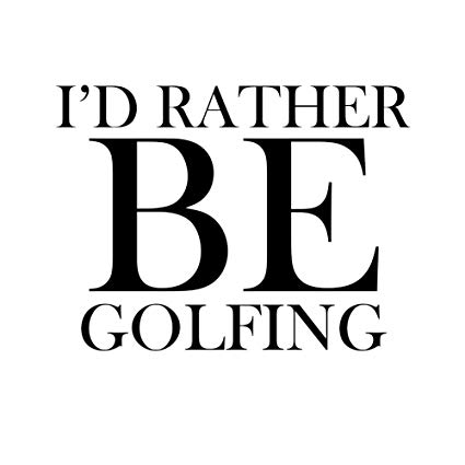 Golf Decals