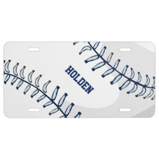 Personalized Sport Plates