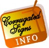 Corrugated Sign Articles
